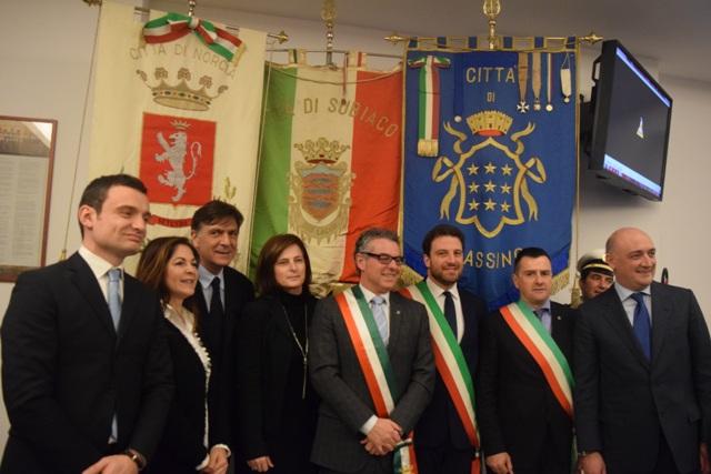 Presentata la fiaccola benedettina 2016 suggestiva for Sede parlamento roma