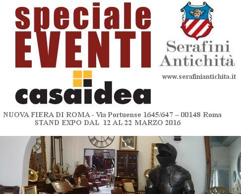 Serafini antichit sar a casaidea 2016 innovazione - Casaidea 2016 roma ...
