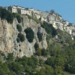 Il borgo antico arroccato