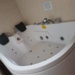 La vasca idromassaggio matrimoniale