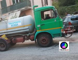 carenza acqua autobotte