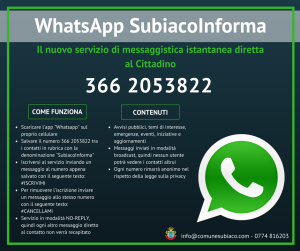 WhatsApp SubiacoInforma