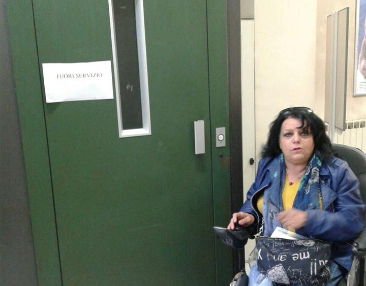 Odissea per i pazienti disabili alla asl di carsoli for Piano piano dell ascensore