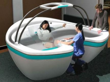 Le donne abruzzesi possono partorire in acqua l 39 ospedale for Volantino acqua e sapone l aquila