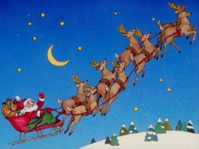 Renne Babbo Natale.Filastrocca Renne Babbo Natale Confinelive