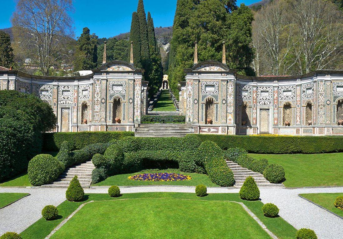 Villa d este fascino e storia in un giardino italiano for Vajilla villa d este