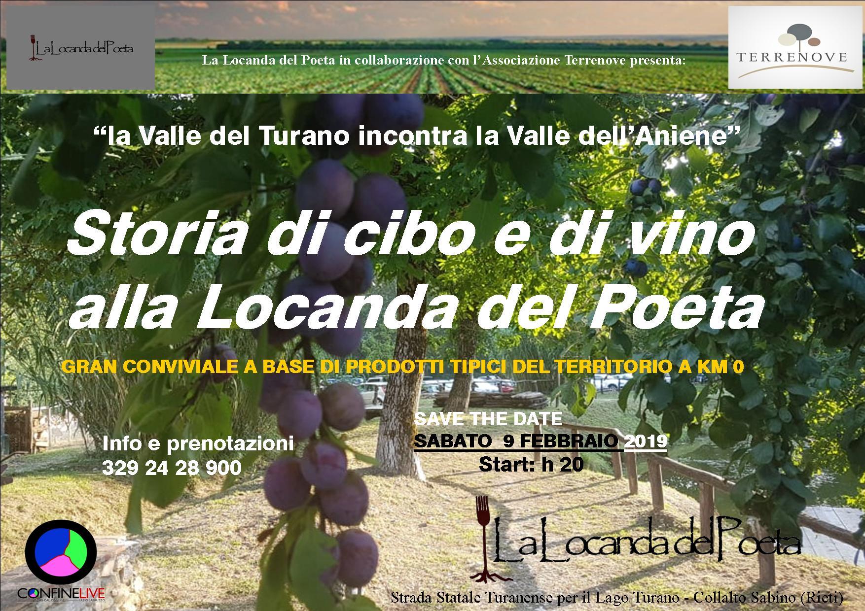 storia di cibo e di vino locanda del poeta composta