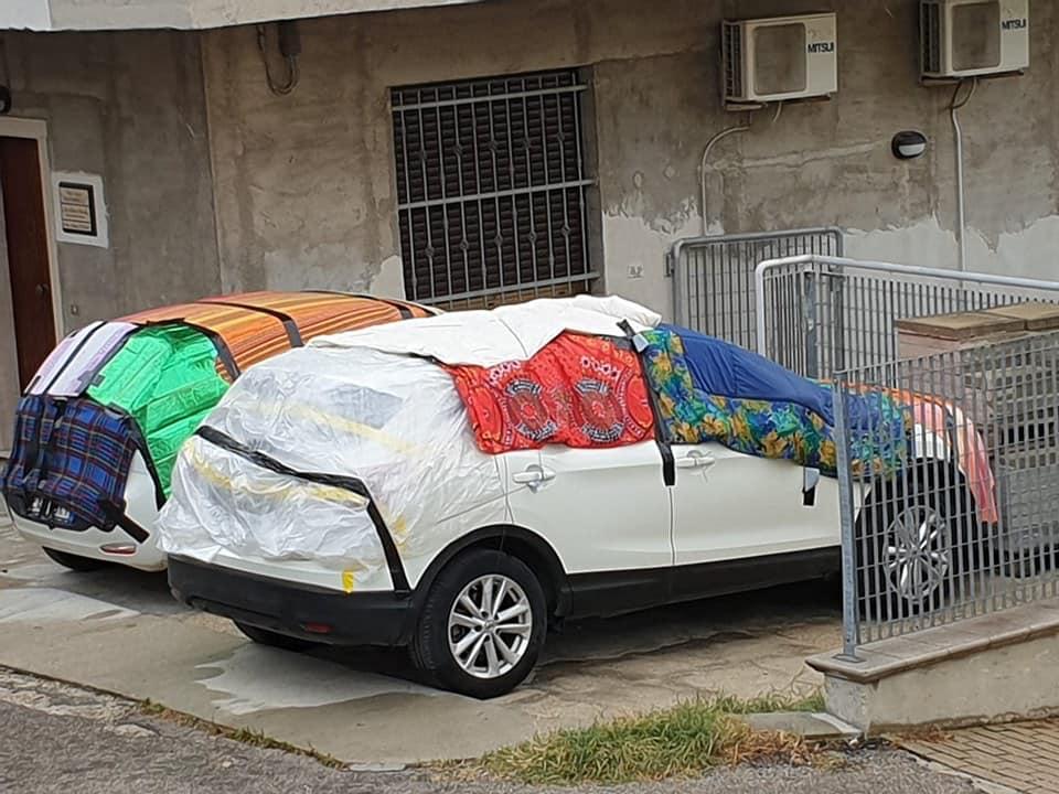 Materassi Pescara.Psicosi Da Grandine A Pescara Materassi E Coperte Sulle Auto In