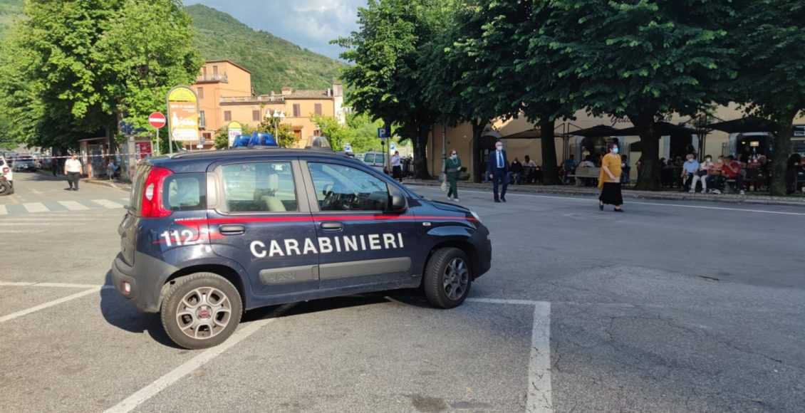 carabinieri a subiaco