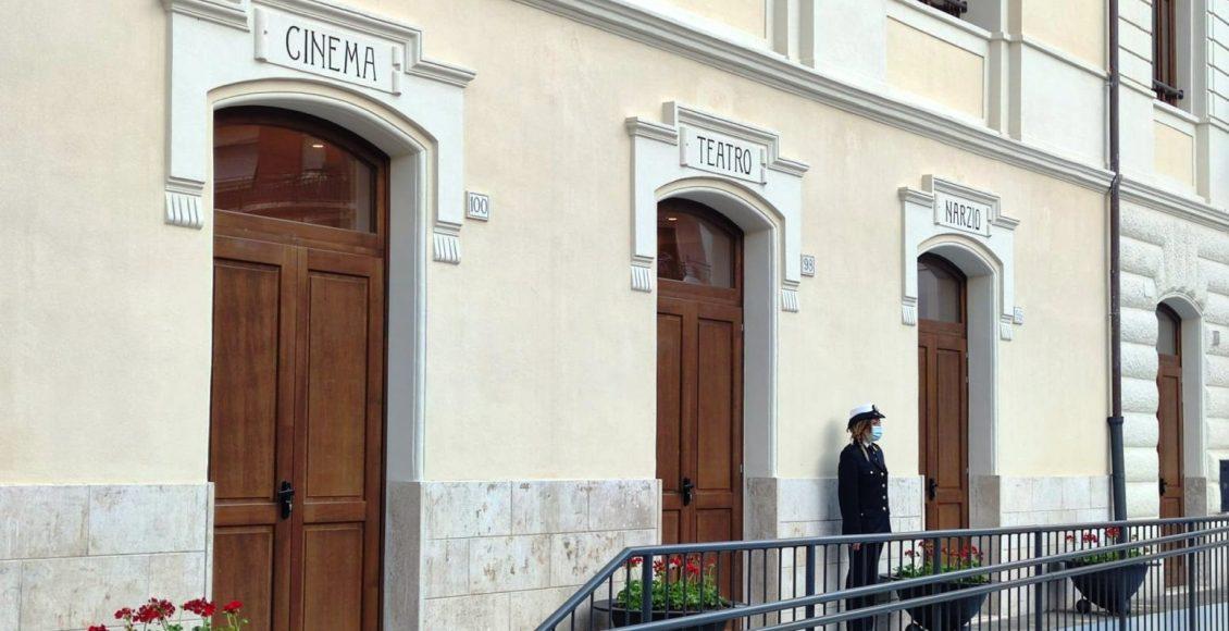 teatro narzio esterna facciata